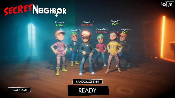 Secret Neighbor multiplayer